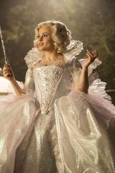 Cinderella's Costume Designer Spills the Secrets Behind Making This Fairytale a Reality from InStyle.com