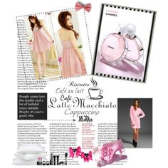 pink party, created by kirakirakitty.polyvore.com