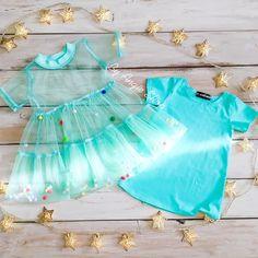 Kids Frocks, Frocks For Girls, Toddler Girl Dresses, Little Girl Dresses, Girls Dresses, Girls Frock Design, Baby Dress Design, Kids Dress Wear, Kids Gown