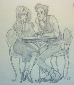 Victoire Weasley & Teddy Lupin