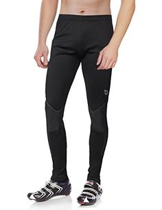 Men's Cycling Tights - Baleaf Mens Windproof Thermal Cycling Tight Pants >>> Read more at the image link.