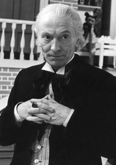 "William Hartnell - Doctor Who ""I was always trying to be old and grumpy and important—like you do, when you're young."" - The Doctor, 10th"