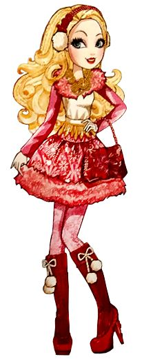 Ever After High Epic Winter Apple White Artwork