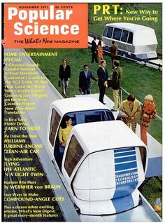 It was starting to be called PRT in 1971.