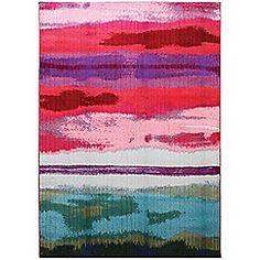 Debenhams - Mutli-coloured 'Colores Easel' rug