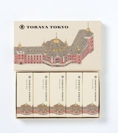 TORAYA TOKYO 限定 小形羊羹5本入 rp: I have no idea what these are but I would buy them just for the packaging.