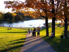 Parc du Mont Royal, Montreal, Canada.