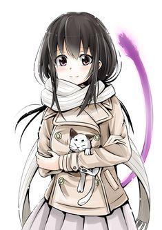#Noragami Hiyori is so cute