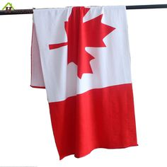 HAKOONA Microfiber Canada Flag Dollar Beach Towel for Adults Kids 70x145cm Summer Bath Towels Printed Water Quick Dry Towel