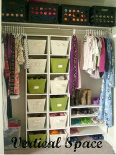 This closet is gorgeous. I take so much time organizing my closet but it will never look this good.