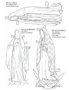 La Catequesis: Viste a la Virgen María con diferentes trajes