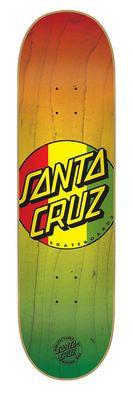 Santa Cruz 8.0in x 31.6in Rasta Dot Deck