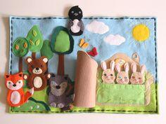 Pot Holders, Coin Purse, Kids Rugs, Kindergarten, Decor, Activity Books, Feltro, Hand Puppets, Decoration