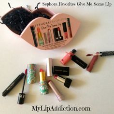 Sephora Favorites -Give Me Some Lip – Mini Review @catforsley