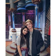 Isabela Moner with Jace