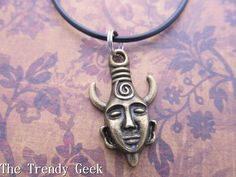 Inspired by Supernatural Dean's Samulet Pendant by TheTrendyGeek, $10.00