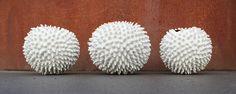 PrickleS by Nathalie Hendrickx Ceramics Underwater World, Bone China, Most Beautiful, Clay, Ceramics, Sculpture, Unique, Artwork, Handmade