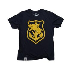 Shark Diver: Organic Fine Jersey Short Sleeve T-Shirt