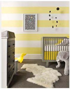 Un nouveau regard: Chambre enfant : une touche de jaune!