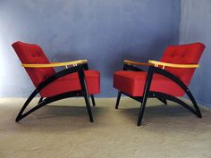 1of2 VINTAGE MID CENTURY MODERN 50s 60s RETRO FULLY RESTORED ARMCHAIR LOUNGE