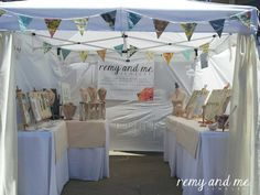 My art fair booth is ready! | Remy and Me. Artisan Jewelry Handmade in California by Michelle Hobbs