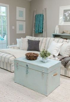 Blog Archive   » 59 Beach And Coastal Living Room Decor Ideas