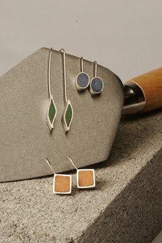 frances smersh concrete jewelry - Google Search