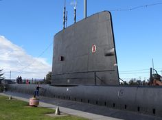 HMCS Onondaga (S73) is an Oberon-class submarine. Closeup on the conning tower