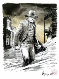 Old Man LOGAN by David Wachter