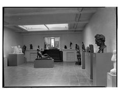 Whitney Museum of Modern Art. Gallery 4 to steps. Date: January 31, 1932  10 West 8th Street.