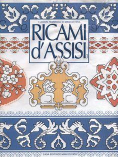 Ricami d'Assisi (punto de cruz) - patrizia santoro - Picasa Web Albums...