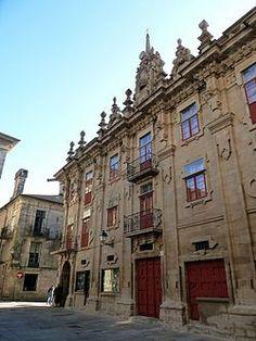 Coruña Santiago Casa del Cabildo