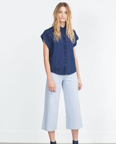 ZARA - WOMAN - DENIM SHIRT