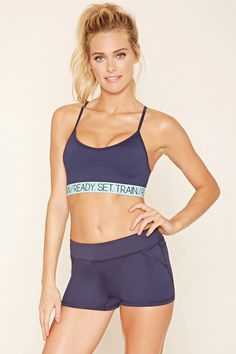 Active Stretch-Knit Shorts #f21active