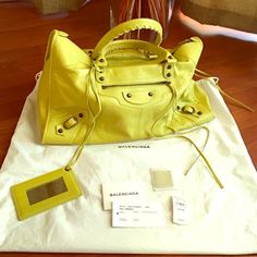 Large Balenciaga Classic Work Satchel 2014 Beautiful bag still not sure if I'm ready to let her go . No trades please Also on Tradesy for 1500 Balenciaga Bags Shoulder Bags
