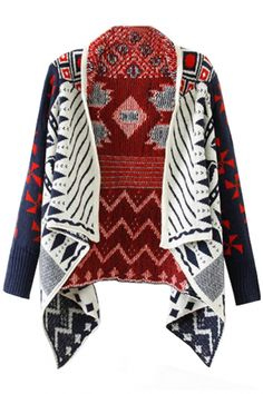 Women's Fashion Clothing Fancy Open-Front #Knit #Cardigan - OASAP.com