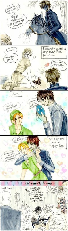 Cinderella Ben pg.3 by Aryoshka on DeviantArt >>>>> What in the ever-loving fuck?