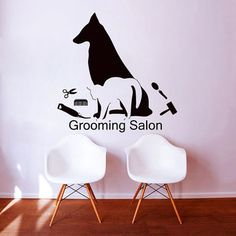 Wall Decals Petshop Grooming Salon Decal from CozyDecal on Etsy