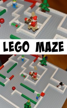 Christmas LEGO maze Informations About Christmas LEGO Maze - Christmas Activities for Kids Pin You c Magical Christmas, Noel Christmas, Simple Christmas, Christmas Themes, All Things Christmas, Lego Christmas, Family Christmas, Christmas Activities For Toddlers, Christmas Crafts For Kids To Make