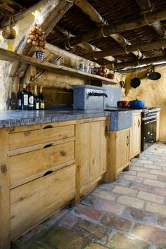 Outdoor kitchen by #Cousaert. You are definitely the chef in our home.