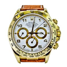 Extremely Rare & Exclusive Rolex Cosmograph Daytona Yellow Gold