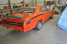 1971 Plymouth Duster 340/ 2 door hardtop. 3 speed automatic.