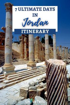 Planning for a trip in Jordan? Visit Jordan and discover its beautiful places from the UNESCO heritage, fascinating cities and its hidden gems. You can spend 7 days in Jordan and cover the entire country as it is quite small and yet has so much to offer for a traveller. Wanderlust Travel, Asia Travel, Eastern Travel, Beautiful Places To Visit, Cool Places To Visit, Places To Go, Middle East Destinations, Travel Destinations, Jordan Travel