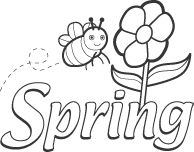 image result for spring clipart free black and white clip art rh pinterest com black and white clip art spring flowers black and white clip art spring flowers