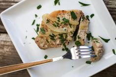 Cooking a tender pork chop doesn& have to be complicated with this recipe for braised pork chops. Braised Pork Chops, Tender Pork Chops, Pork Roast, Pork Chop Recipes, Meat Recipes, Cooking Recipes, Crockpot Recipes, Yummy Recipes, Cooking Tips