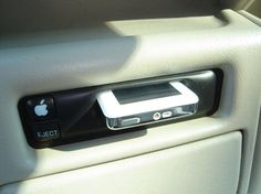 iPod in-car dock