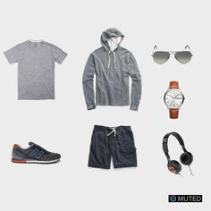 ** MENS OUTFIT IDEAS #69 ** This is a perfect weekend outfit. If you're looking to watch the game with some friends our take a quick jog, this is the outfit for you. It features ...