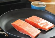 I happen to love salmon but I forget to take it out of the freezer for dinner. Does that happen to you? I am going to help you out because I have learned how to cook salmon from frozen. Cook Salmon On Stove, Cooking Salmon, Fish Dishes, Seafood Dishes, Bake Frozen Salmon, Salmon From Frozen, Salmon Skillet, Air Fry Recipes, Baked Salmon Recipes