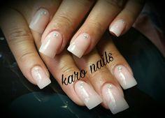 Uñas acrílicas muy naturales hermosas #okaronails