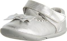 pediped Grip-N-Go Betty Mary Jane (Toddler),Silver,22 EU (6-6.5 M US Toddler) pediped. $33.99